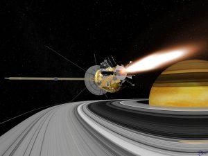 La asistencia gravitatoria, un turbo para las naves espaciales